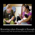 Discussing the tough topics - WIC breastfeeding conference